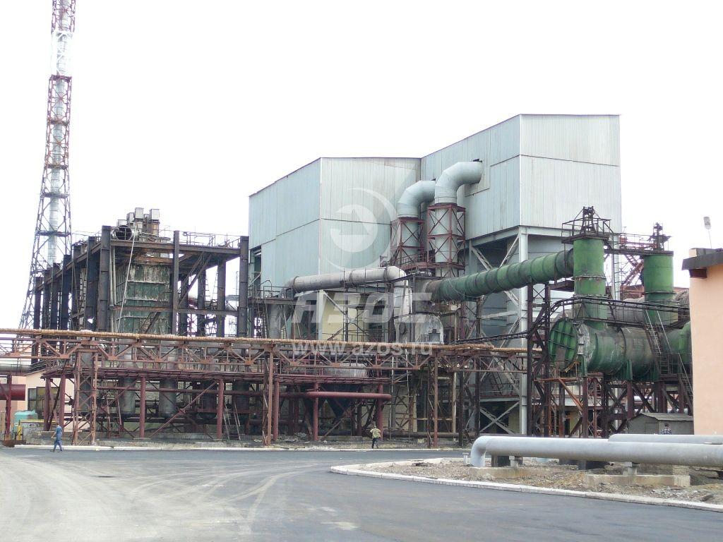 Химзащита технологического оборудования сернокислотного цеха
